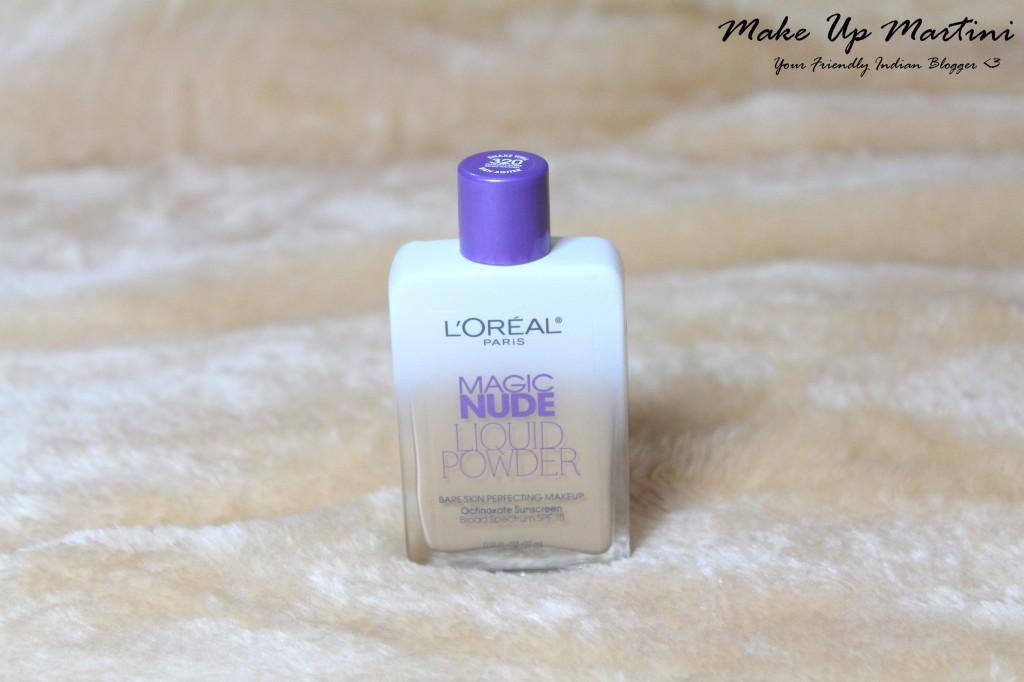 L'Oreal Paris Nude Magic Liquid To Powder Foundation