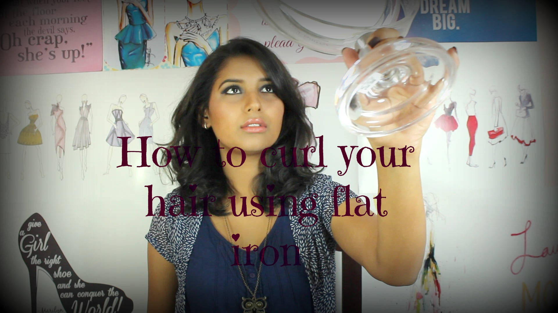 How To Curl Your Hair Using Flat Iron