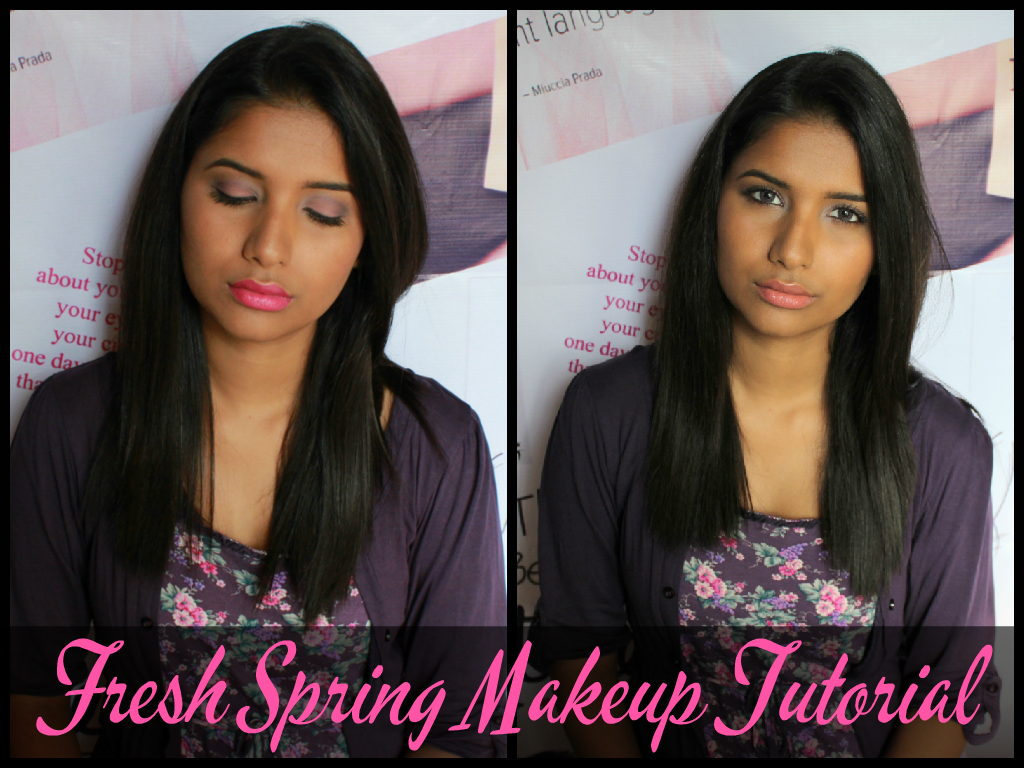 Fresh Spring Makeup Tutorial