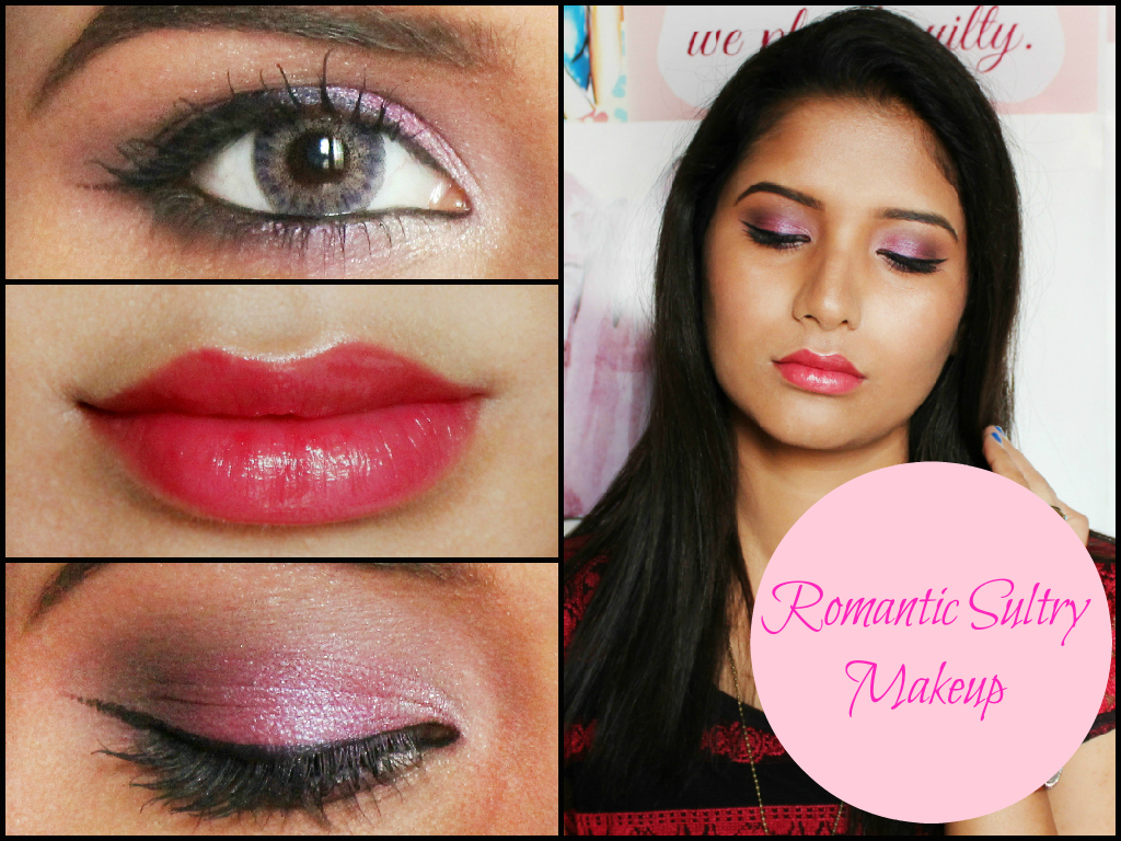 ROMANTIC SULTRY MAKEUP TUTORIAL