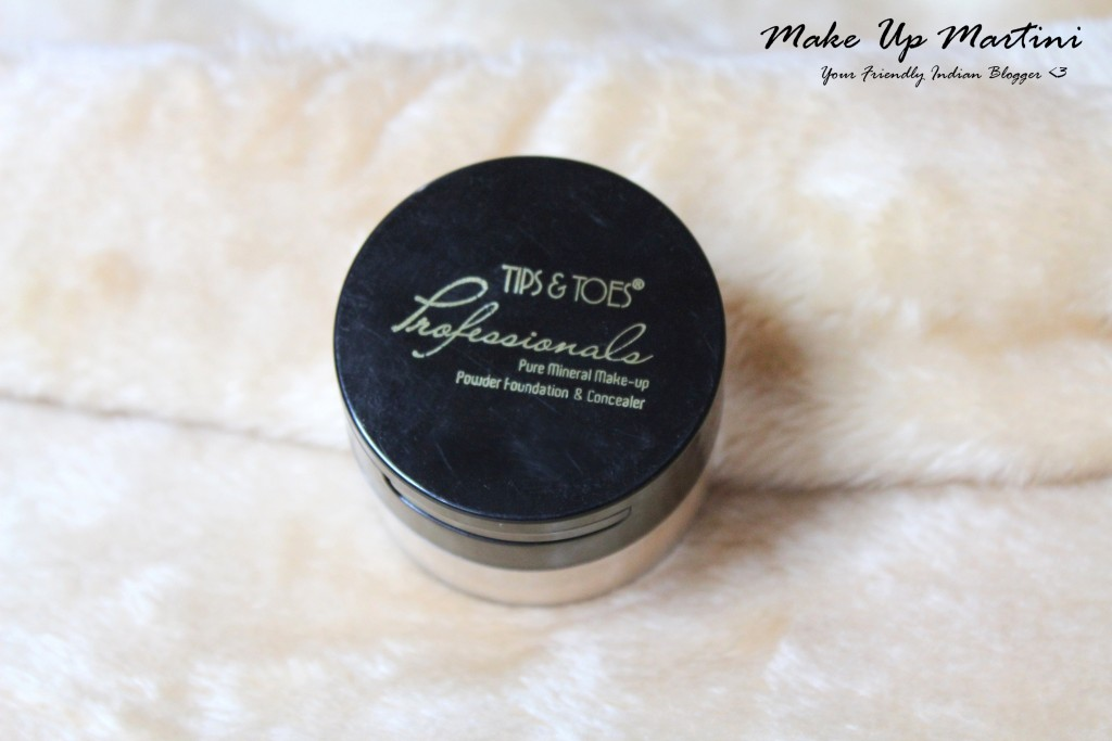 Tips and Toes Pure Mineral Make-up Powder Foundation & Concealer