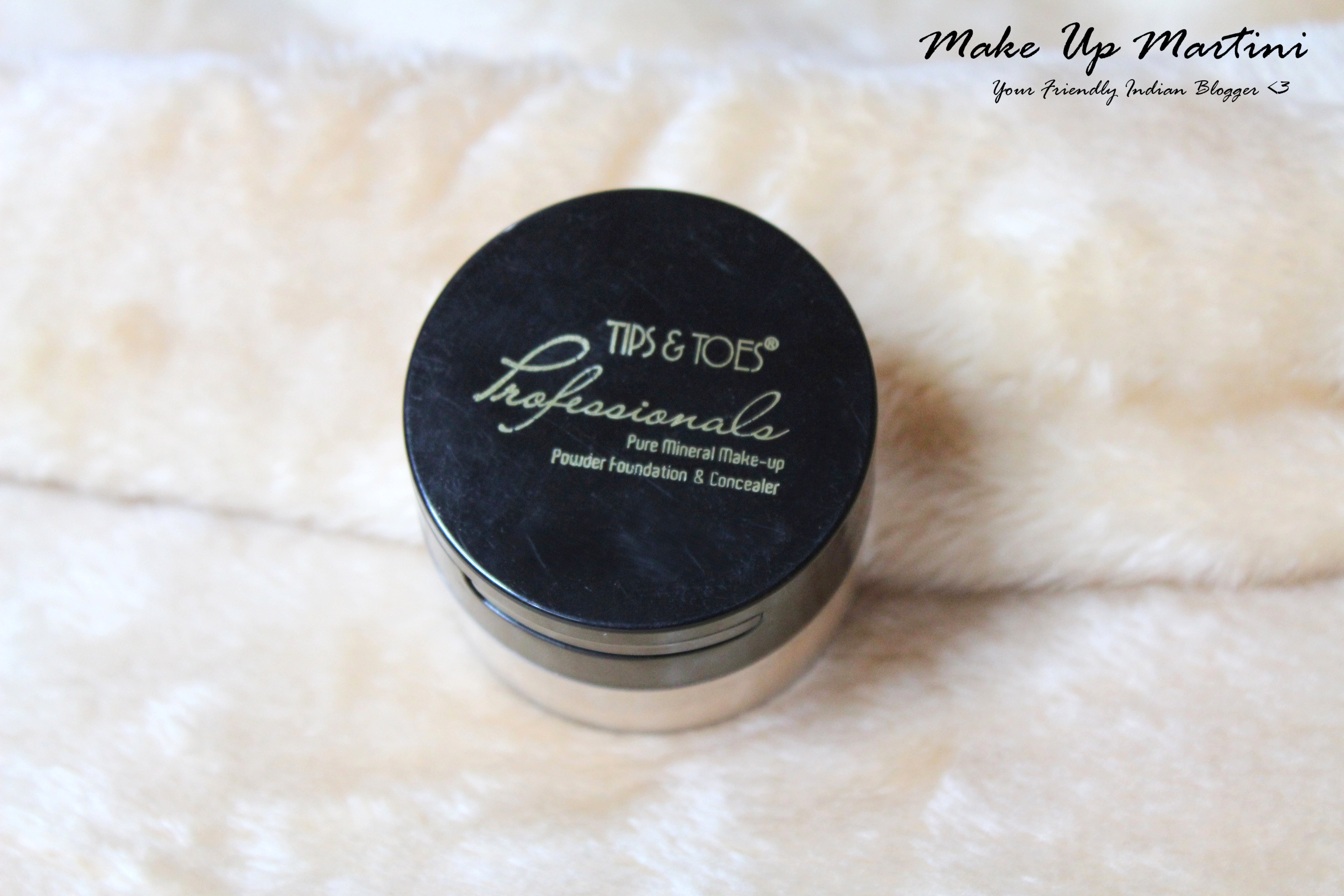 Tips & Toes Pure Mineral Make-up Powder Foundation & Concealer