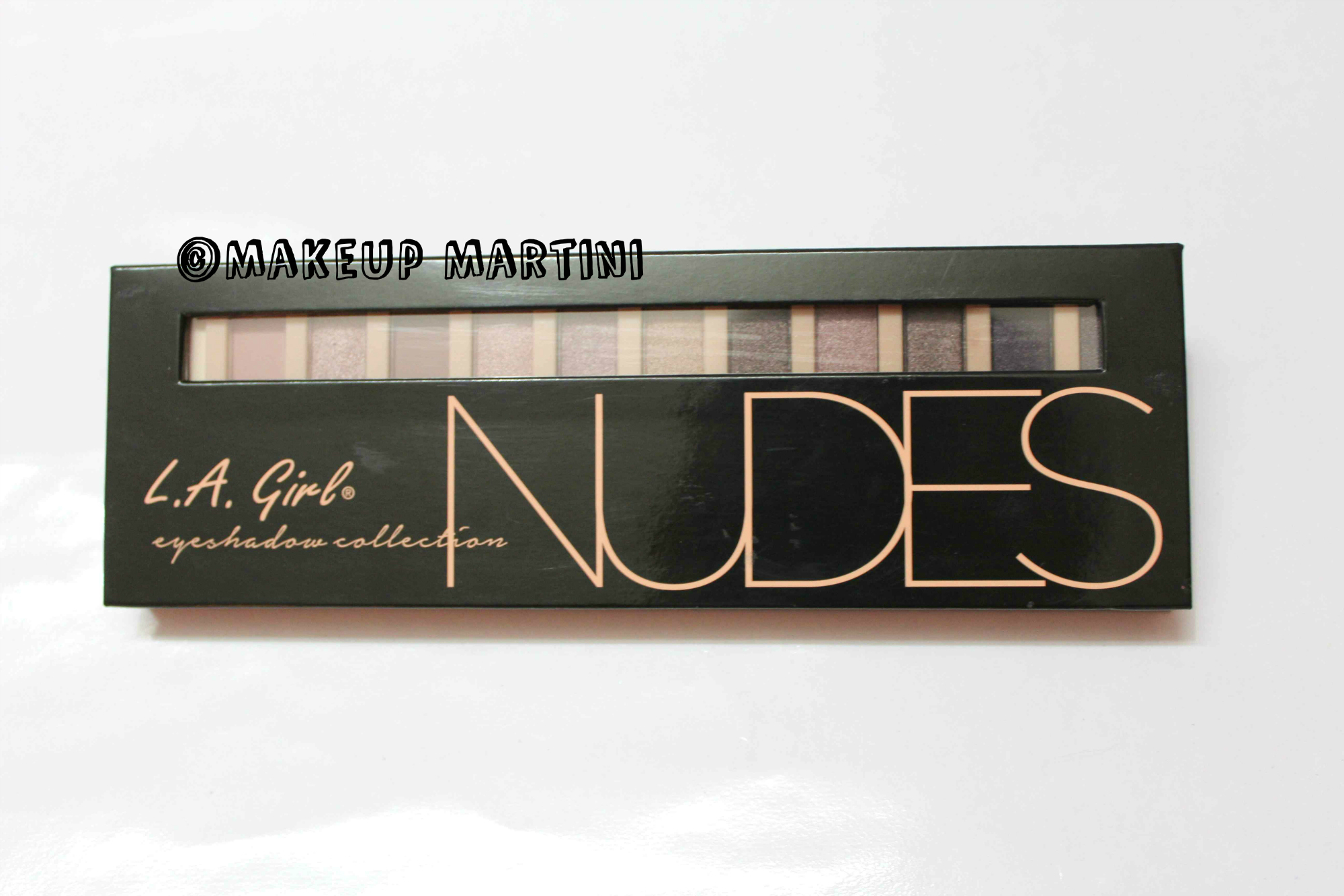 L.A. Girl Nudes Eyeshadow Palette Review