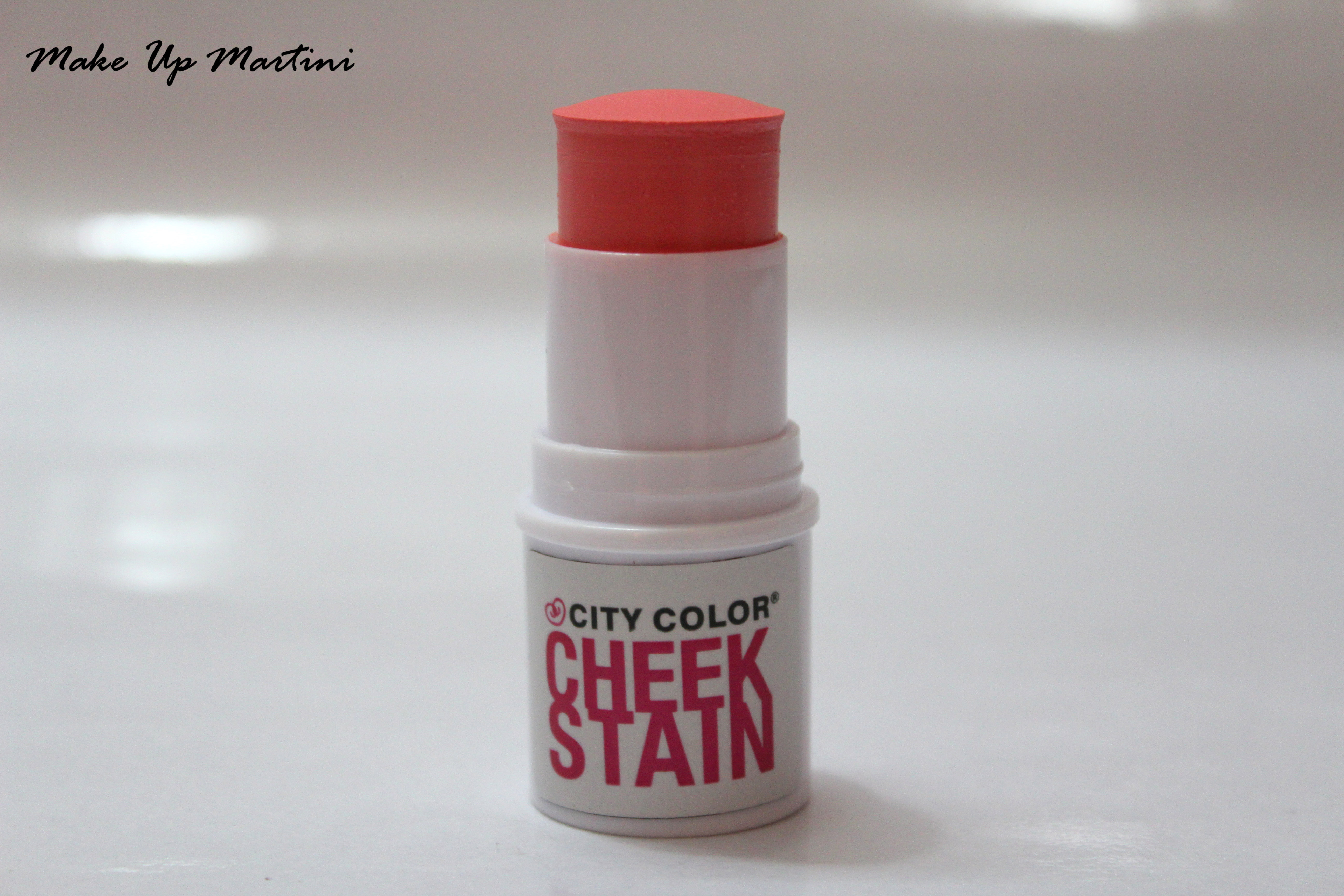 City Color Cheek Stain in Coral Review