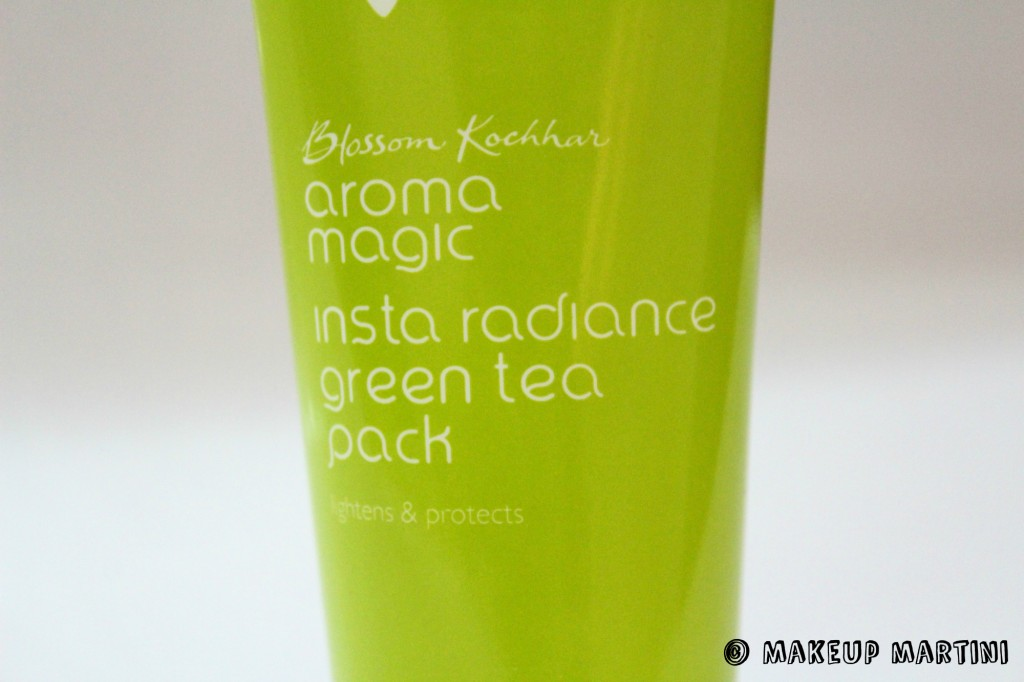 Aroma Magic Insta Radiance Green Tea Pack Review