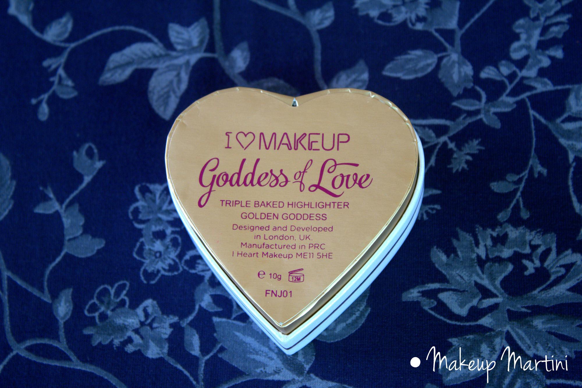 Goddess of Love Highlighter Review – MakeUpMartini