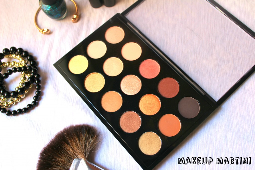 MAC Eye Shadow Warm Neutral Palette Review