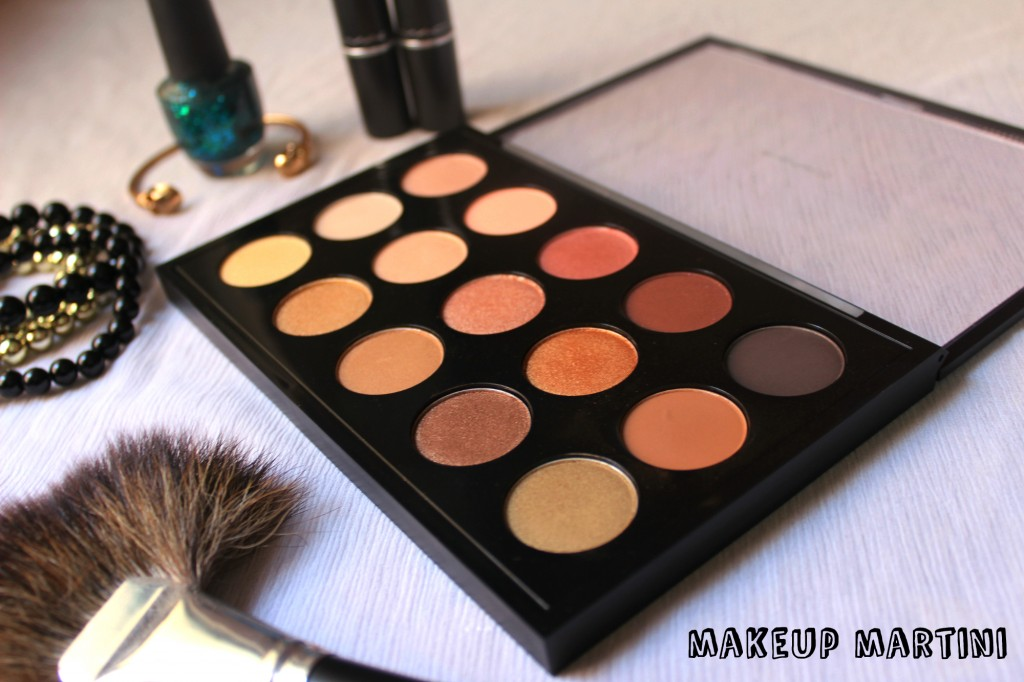 Warm neutrals professional makeup palette life style by for Modern neutrals palette