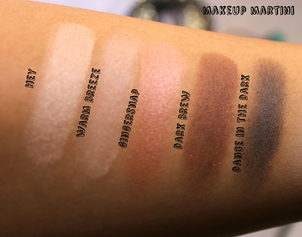 MAC Eye Shadow Warm Neutral Palette Review