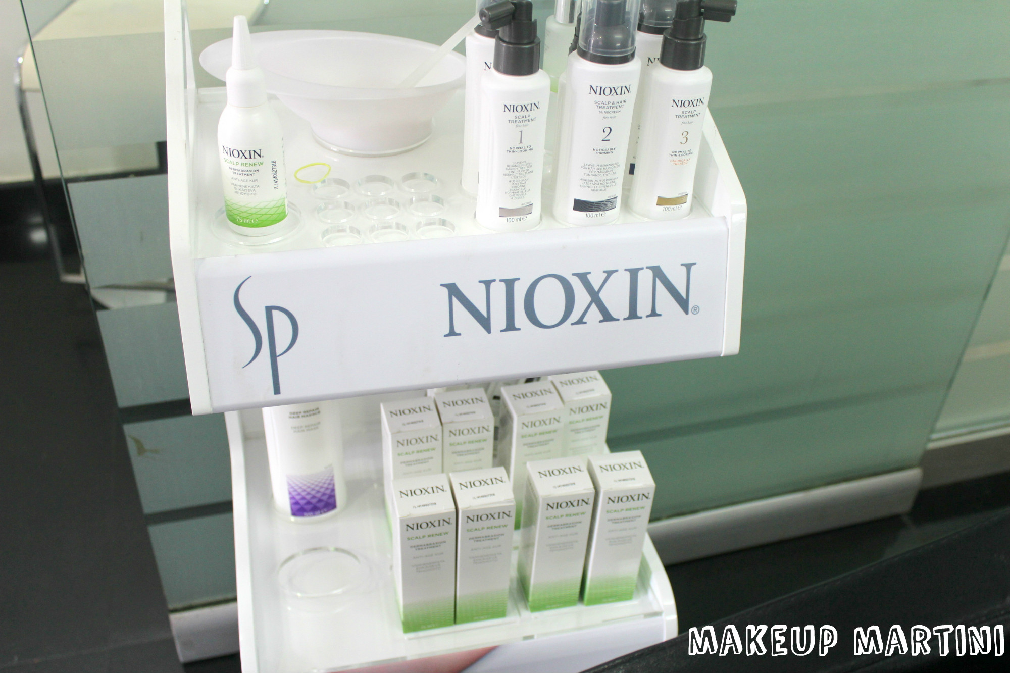 Nioxin in India & Scalp Facial!!