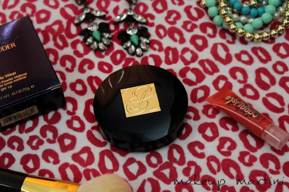 Estee Lauder Powder Foundation- Review, Swatches & FOTD