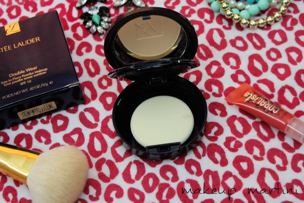 Estee Lauder Powder Foundation- Review, Swatches & FOTD