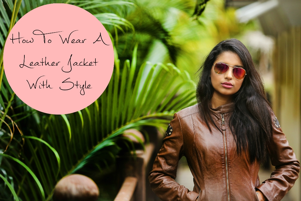 How To Wear A Leather Jacket With Style fotor