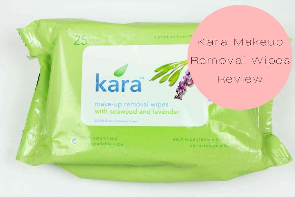 Kara Makeup Removal Wipes Review fotor