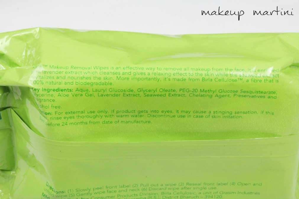 Kara Makeup Removal Wipes Review in