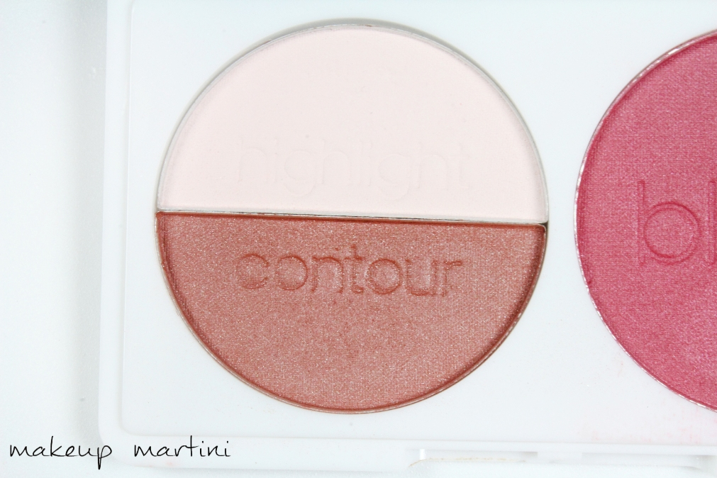 LA Colors Blush Contour Palette in Sugar Plum con
