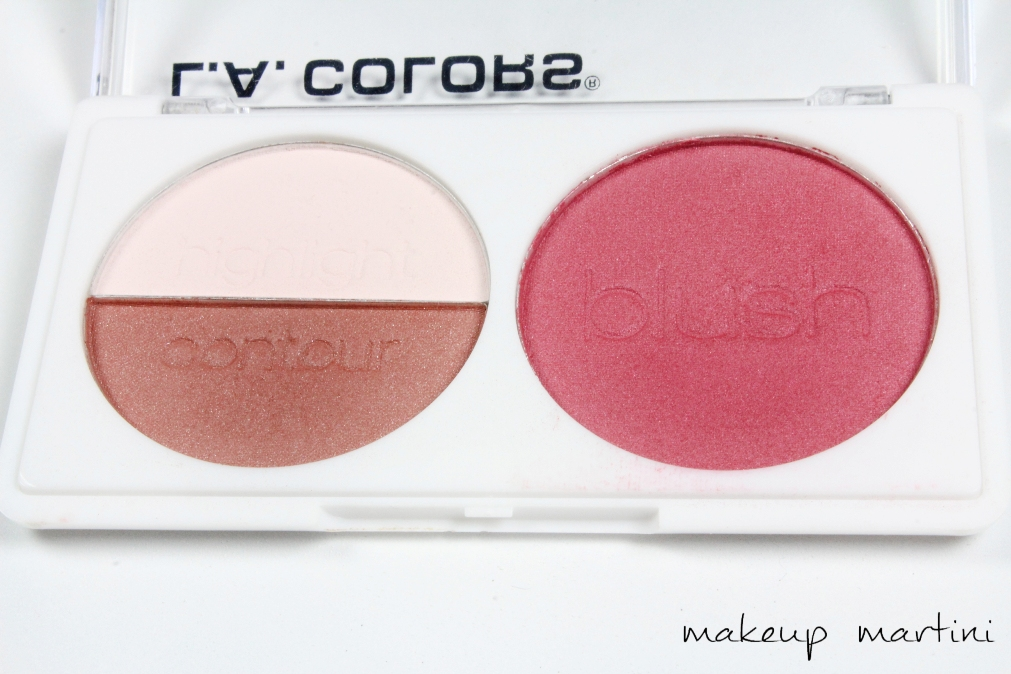 LA Colors Blush Contour Palette in Sugar Plum