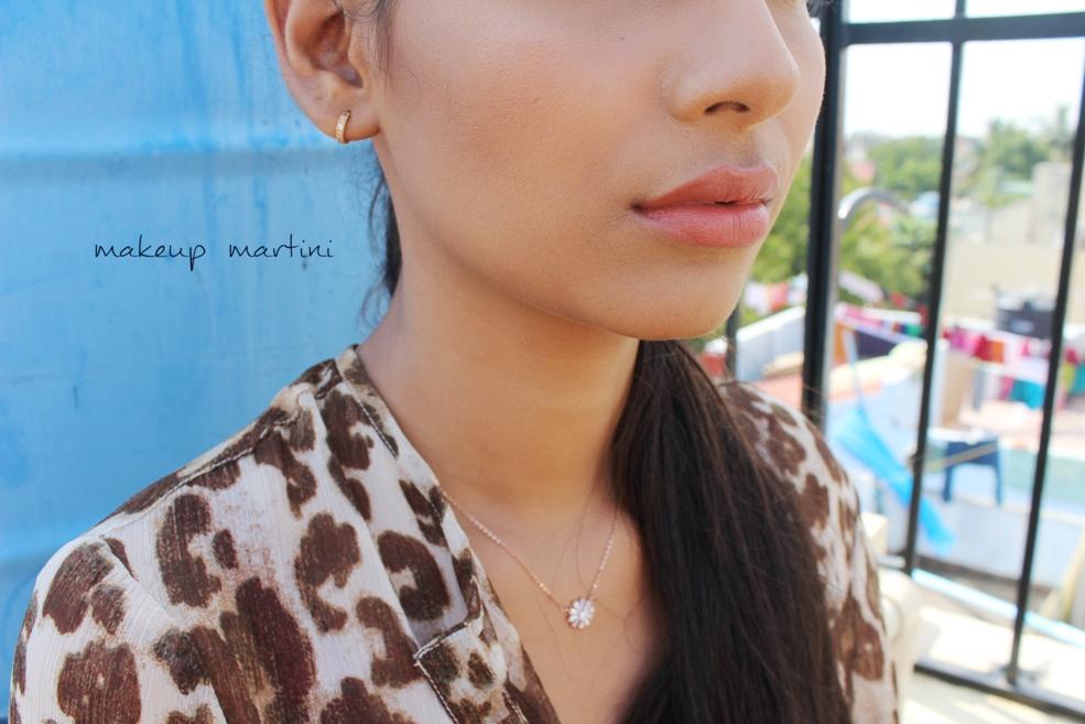 MAC Taupe Lipstick Swatch