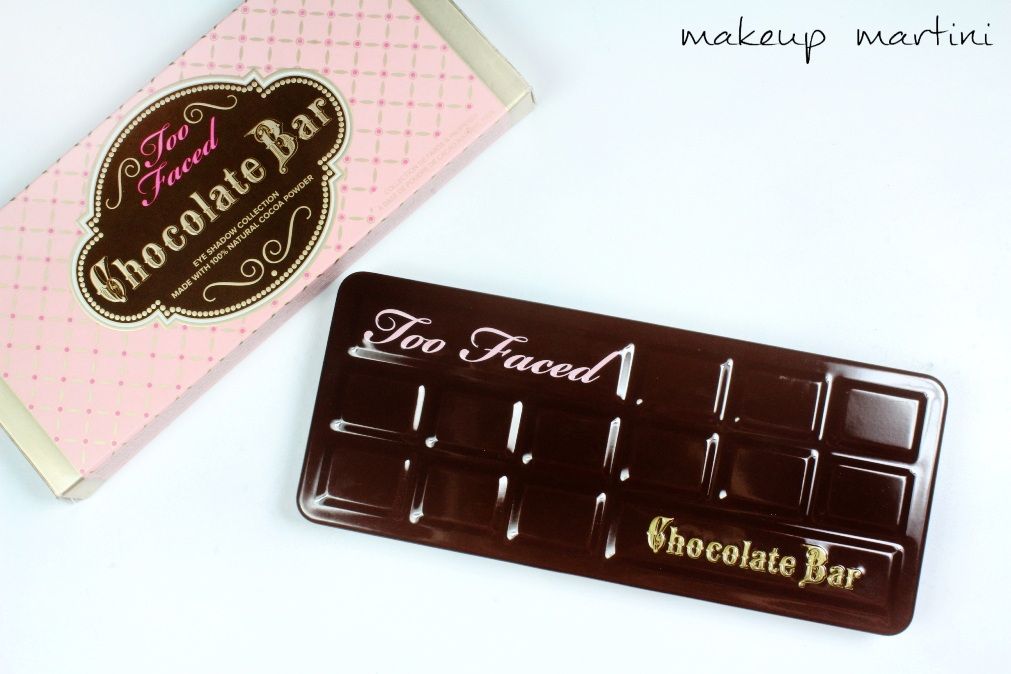 Too Faced Chocolate Bar Palette Review and Swatches c