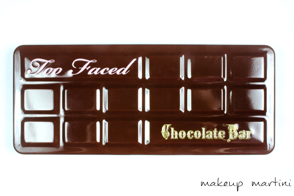 Too Faced Chocolate Bar Palette Review and Swatches o