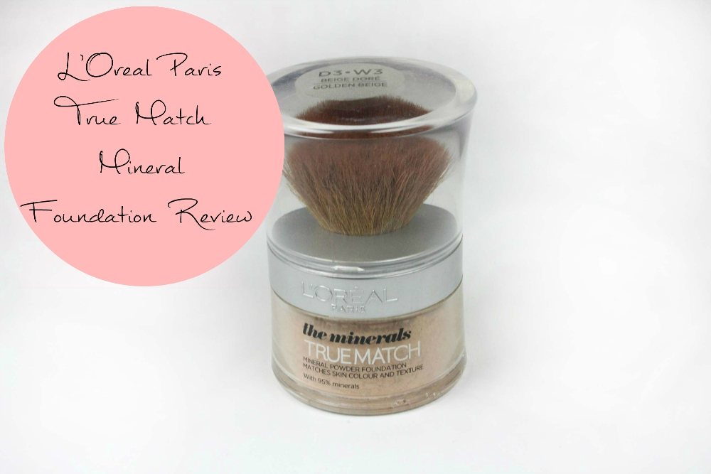 True Match Mineral Foundation Review fotor