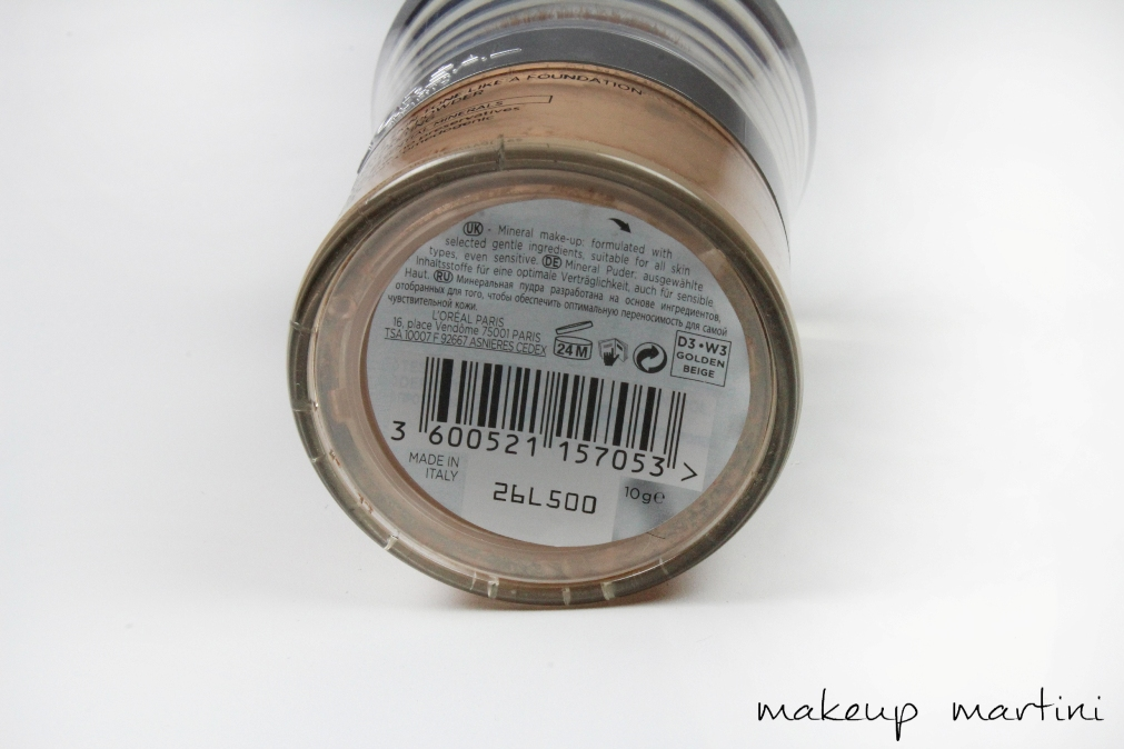 True Match Mineral Foundation Review ing