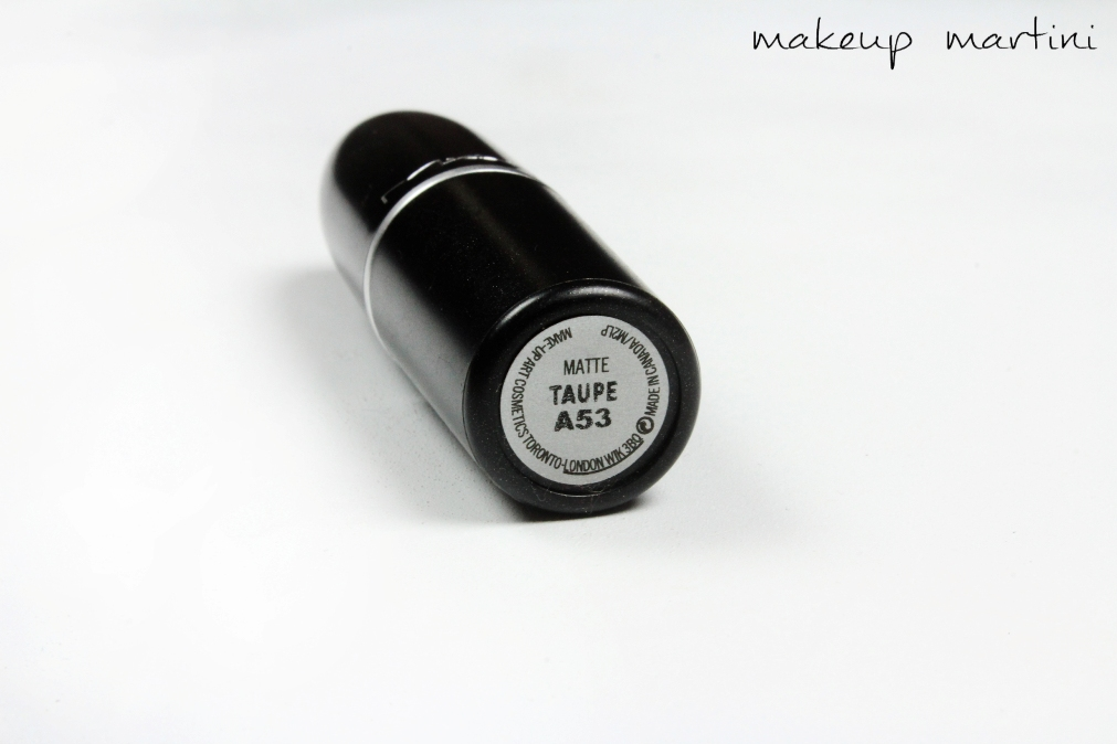 Mac Matte Taupe Lipstick Review Dupe Swatch Price
