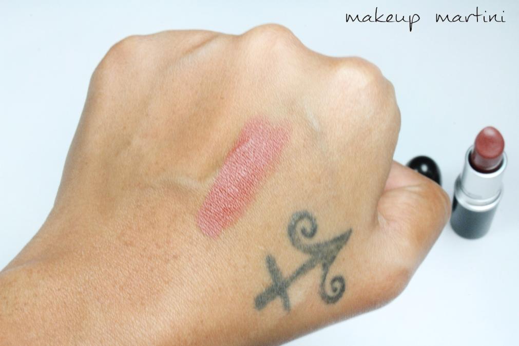 MAC Matte Taupe Lipstick Swatch