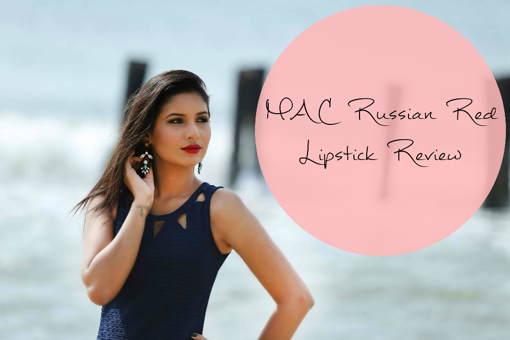 MAC Russian Red Lipstick Review, Swatches & FOTD