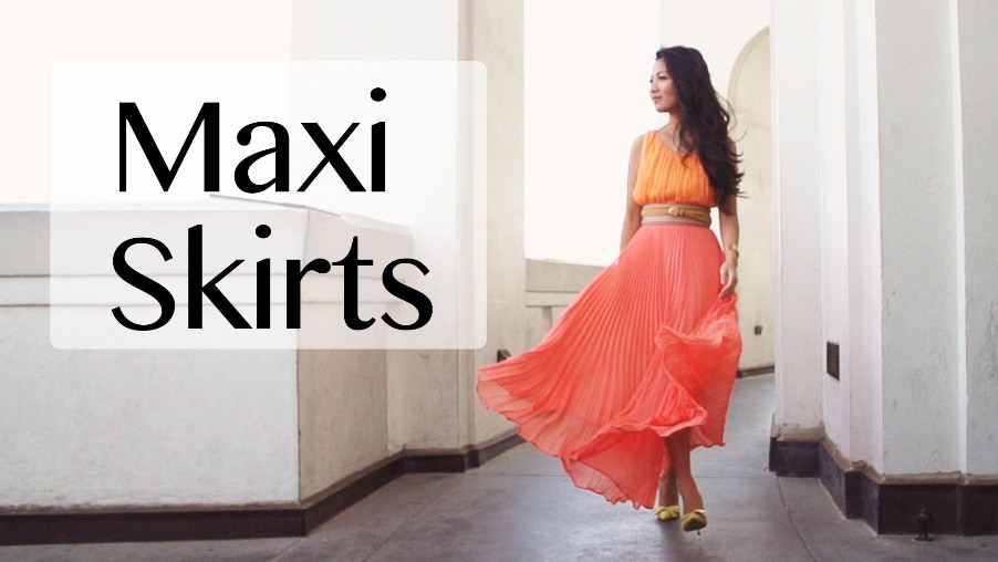 Trendy Ways to Style and Rock out a Maxi Skirt
