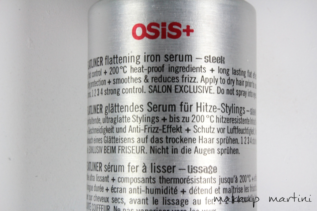 osis flatliner spray review in