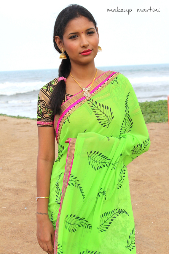 printed casual and party saree (1)