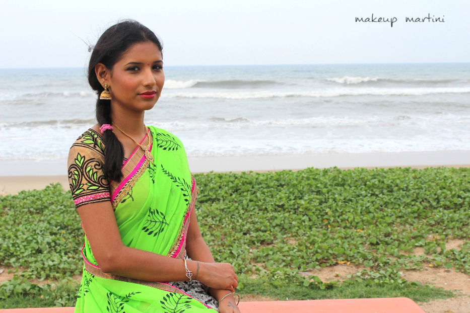 printed casual and party saree (3)
