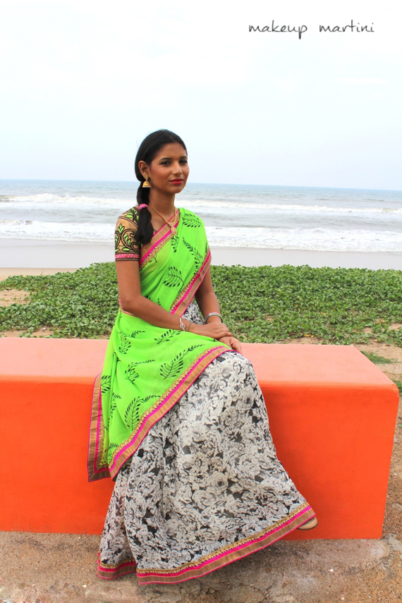 printed casual and party saree (5)