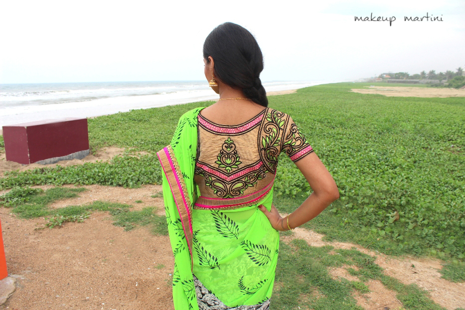 printed casual and party saree (6)