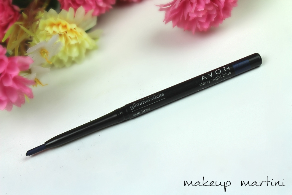 Avon Glimmersticks in Starry Night Blue Review and Swatch