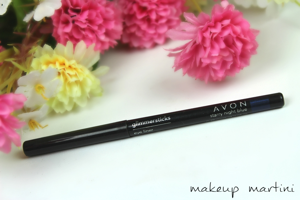 Avon Glimmersticks in Starry Night Blue Review and Swatches