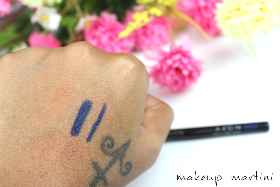 Avon Glimmersticks in Starry Night Blue Review and Swatchesss
