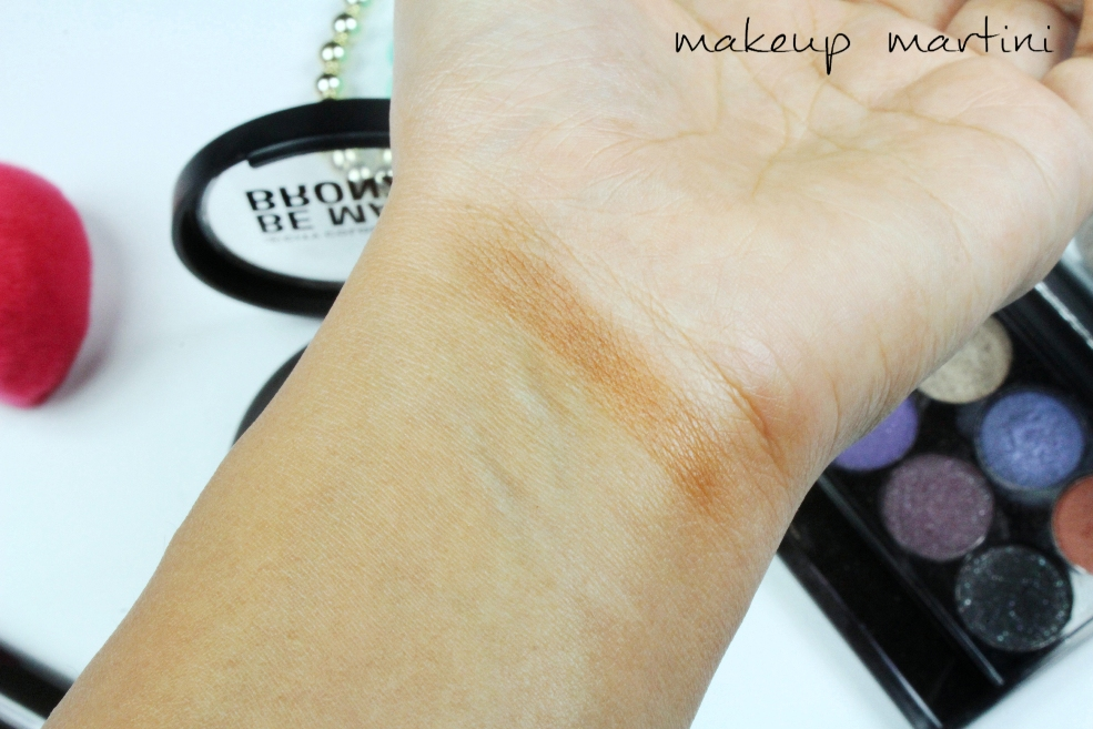 City Color Cosmetics Be Matte Bronzer Chocolate Truffle Swatch