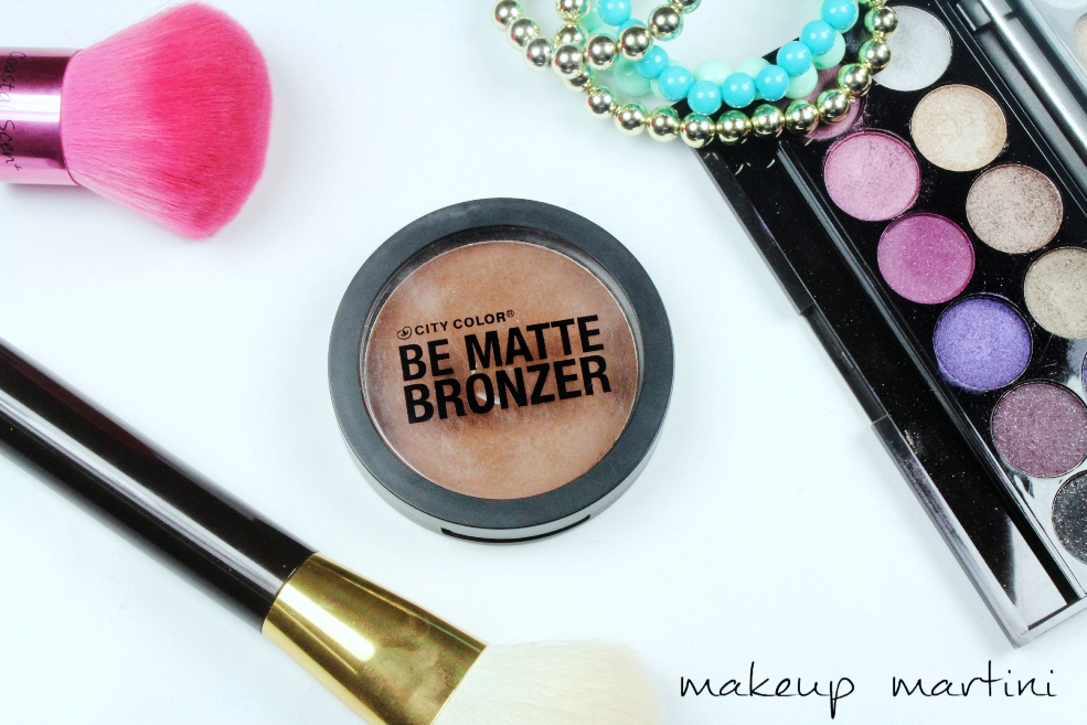 City Color Cosmetics Be Matte Bronzer Review (2)