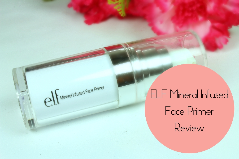 ELF Mineral Infused Face Primer Review Fotor