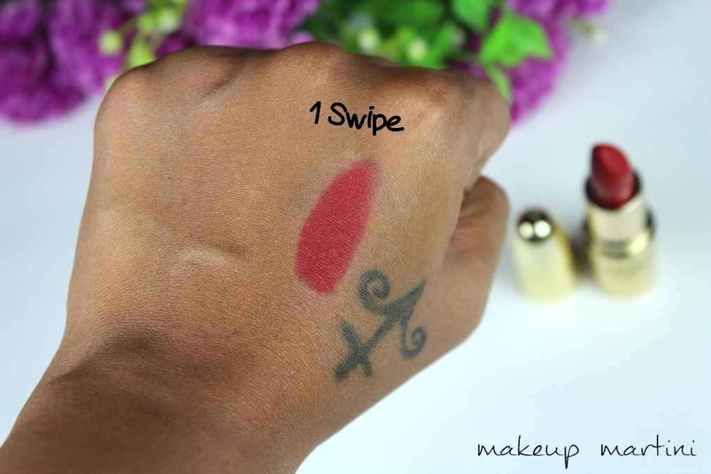 Gerard Fire Engine Lipstick Review & Swatch