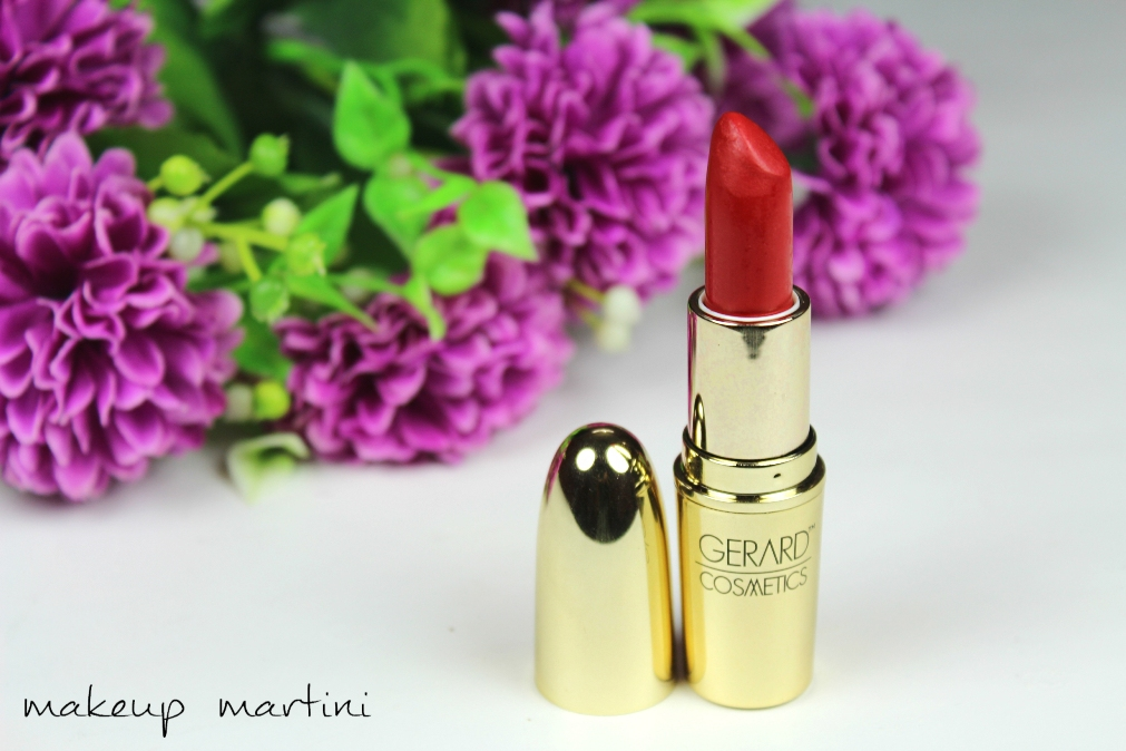 Gerard Fire Engine Lipstick Review & Swatchess