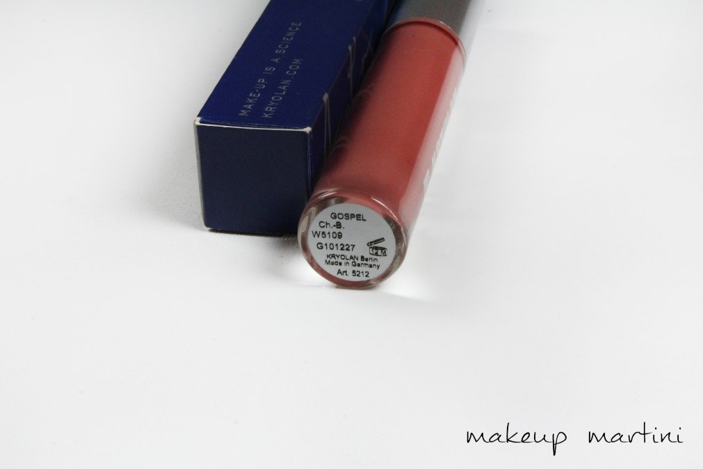 Kryolan Lip Stain in Gospel Review label