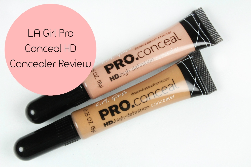 LA Girl Pro Conceal HD Concealer Review Fotor