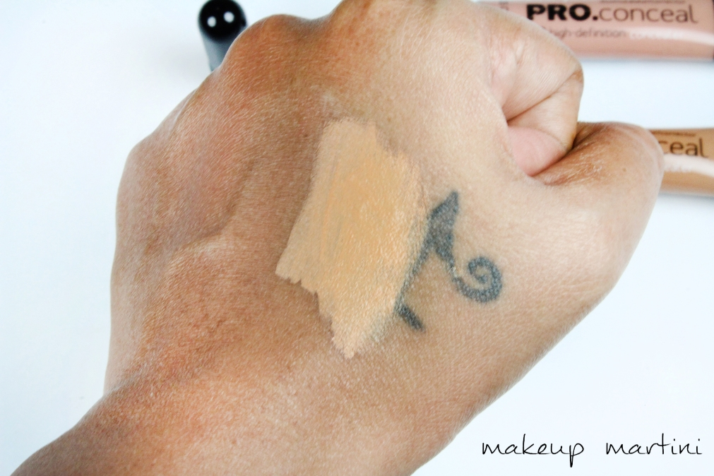 LA Girl Pro Conceal HD Concealer Review & Swatches