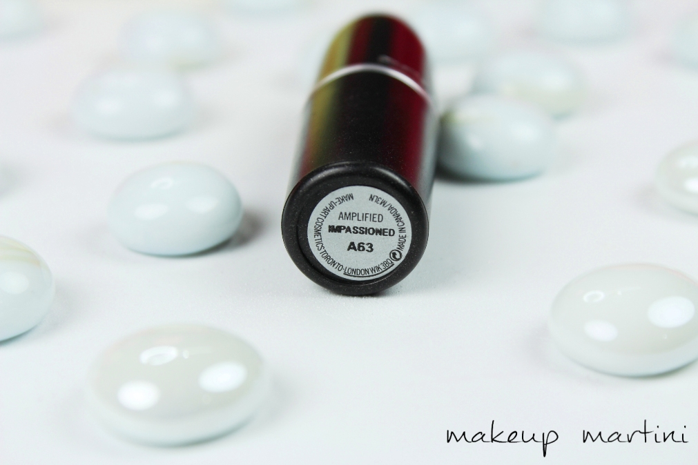 MAC Impassioned Lipstick Review