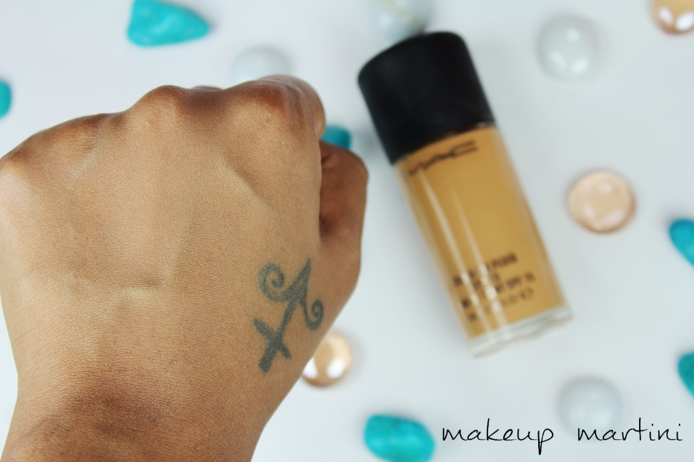 MAC Studio Fix Fluid Foundation NC42 Review and Swatches