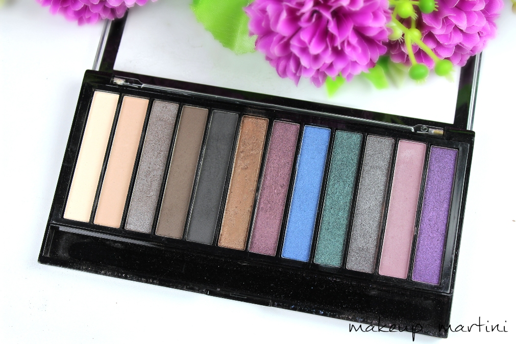 Makeup Revolution Hot Smoked Palette Review