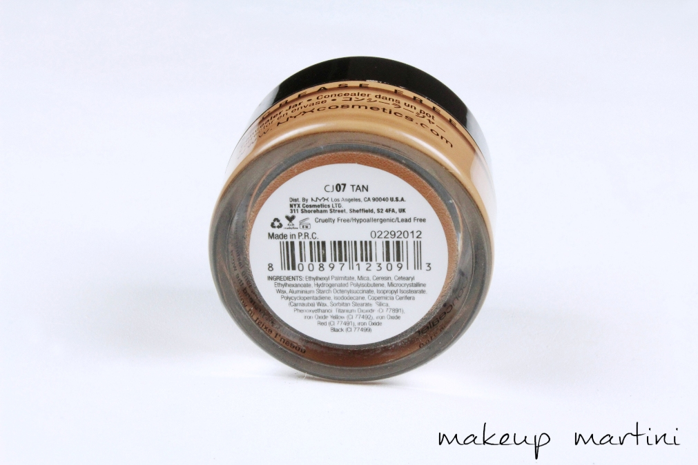 NYX Concealer In A Jar Review and Swatches (4)